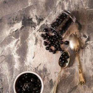 Dulceata de afine de padure produs traditional romanesc #autenticro.eu 1