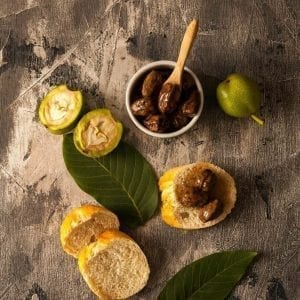 Dulceata de nuci verzi produs traditional romanesc #autenticro.eu 1