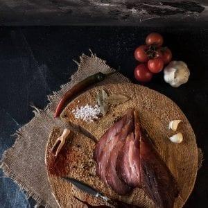 Muschi afumat crud uscat produs traditional din carne de porc mangalita #autenticro.eu 1