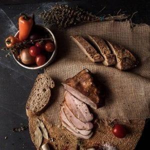 Muschi file afumat produs traditional din carne de porc mangalita #autenticro.eu 1