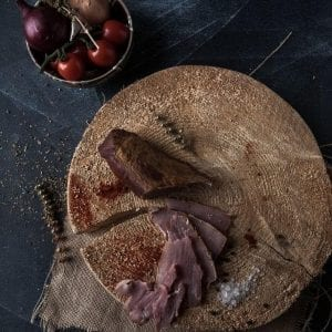 Muschiulet afumat montana Produs traditional din carne de porc mangalita Produse traditionale romanesti #autenticro.eu 1