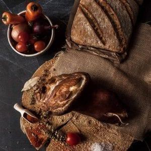 Rasol produs traditional din carne de porc mangalita #autenticro.eu 1
