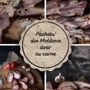 Pachetu' din Moldova Produse traditionale romanesti carne de porc #autenticro.eu
