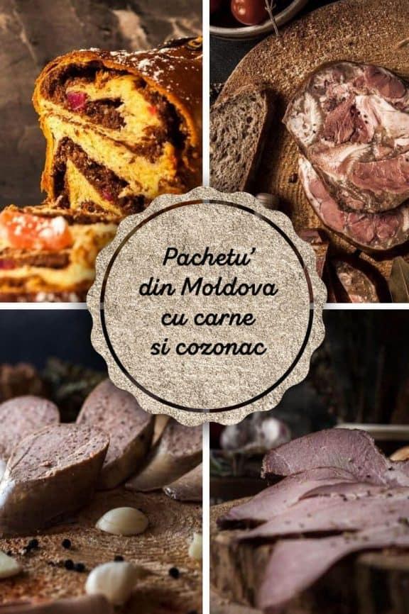 """Pachetu' din Moldova"" – cu carne si cozonac"