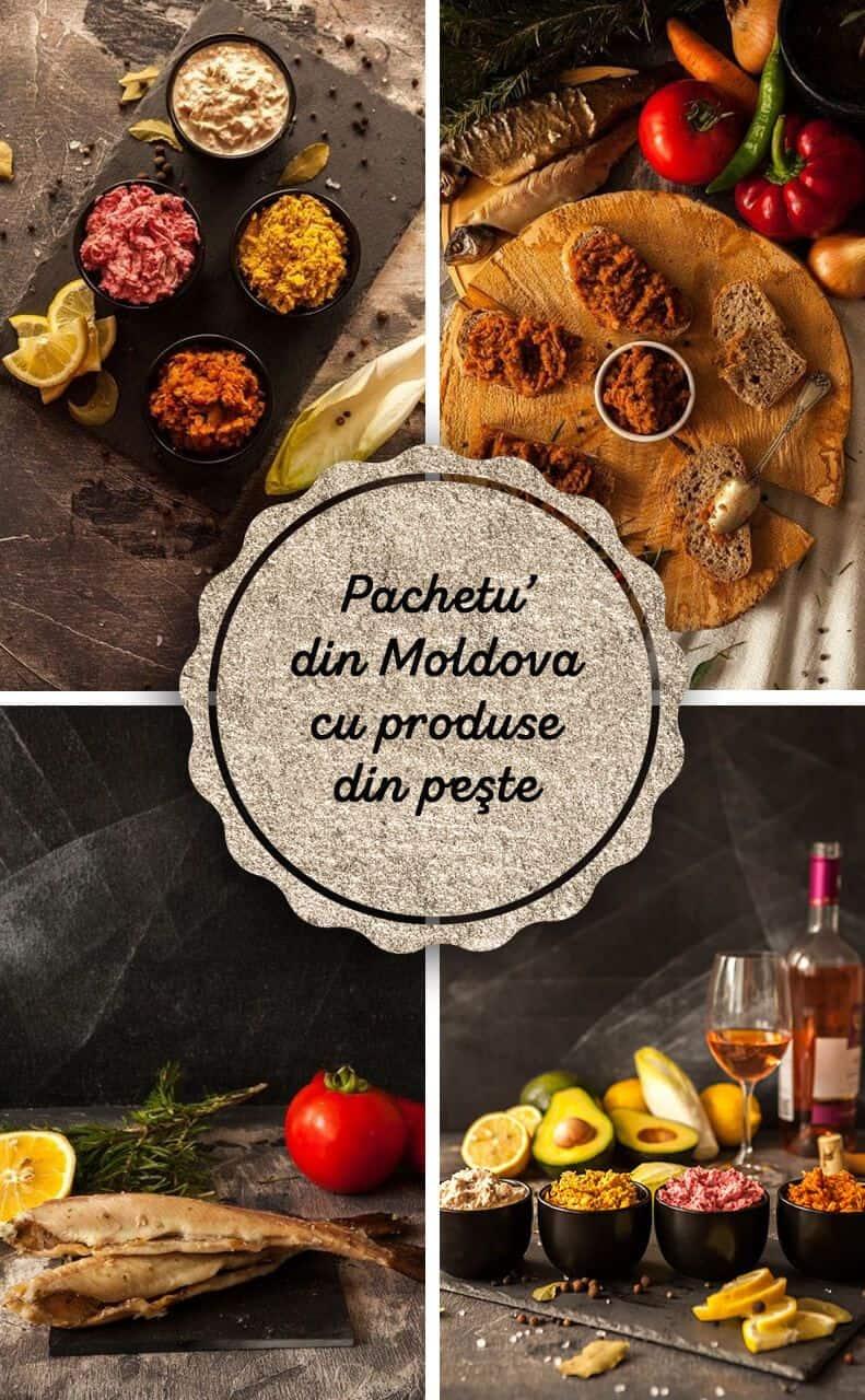 """""""Pachetu' din Moldova"""" – cu produse din peşte"""