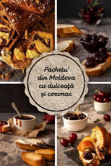 """""""Pachetu' din Moldova"""" – cu dulceaţă şi cozonac"""