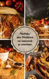"""""""Pachetu' din Moldova"""" – cu zacuscă şi cozonac"""